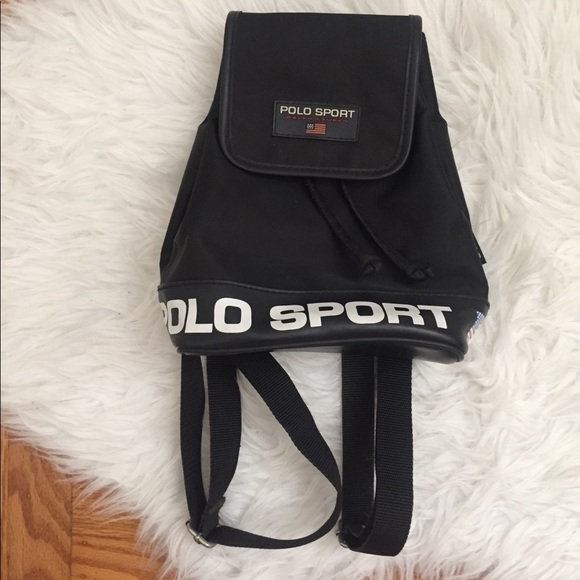 Vintage 90 s Ralph Lauren Polo Sport Backpack Mini.  M 5af0adccdaa8f635e7b57aae. Other Bags ... 5918be5a7f6e9